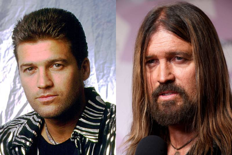 billy ray cyrus young and old photos