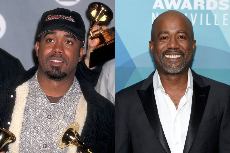 darius rucker young and old photos