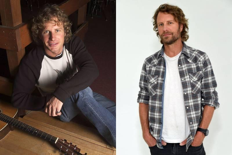 dierks bentley young and old photos