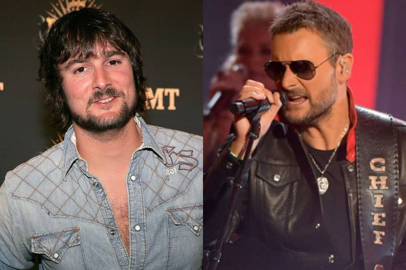 eric church young and old photos