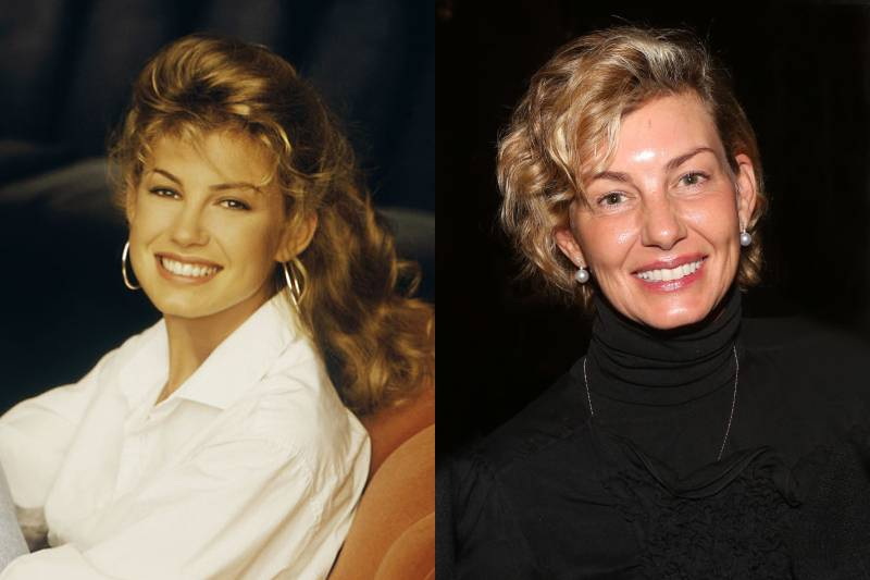 faith hill young and old photos