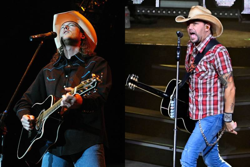 jason aldean young and old photos