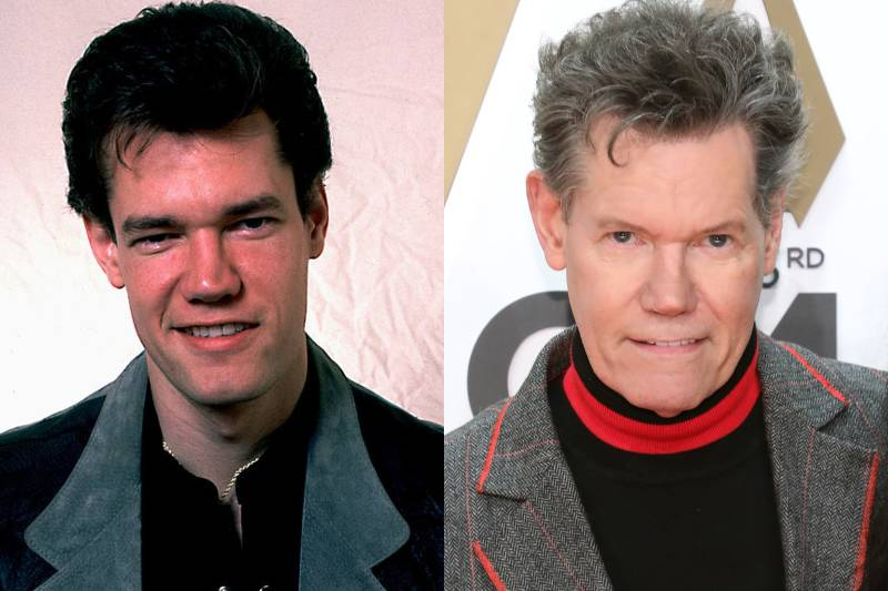 randy travis young and old photos