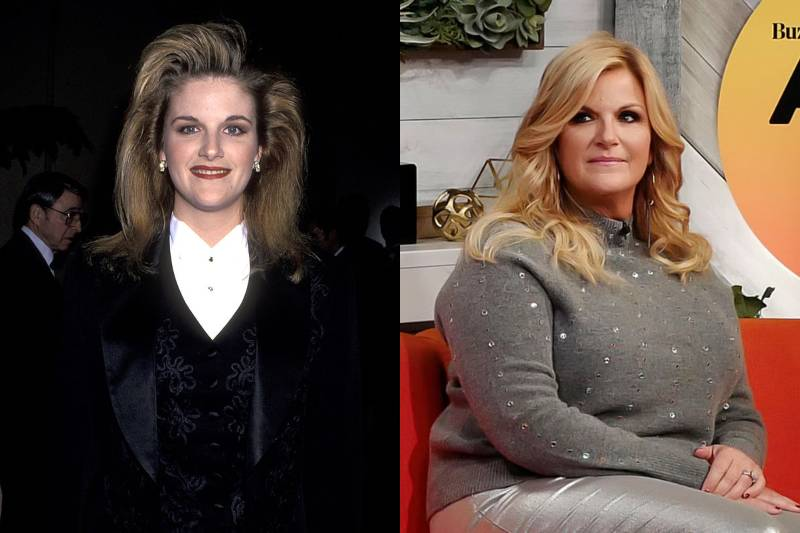 trisha yearwood young and old photos