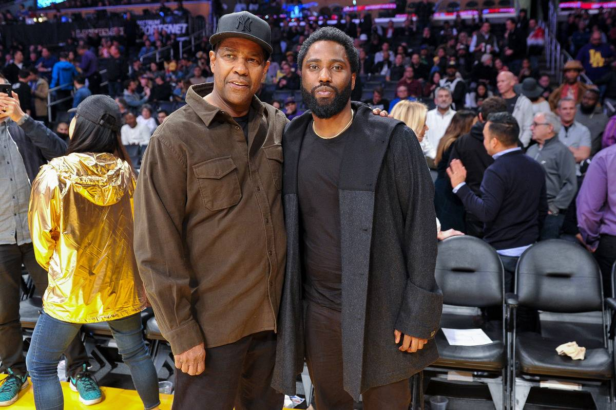 Denzel Washington And John David Washington
