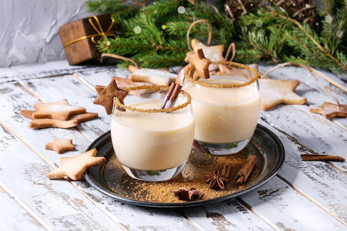 Eggnog Dates Back To Jamestown In 1607