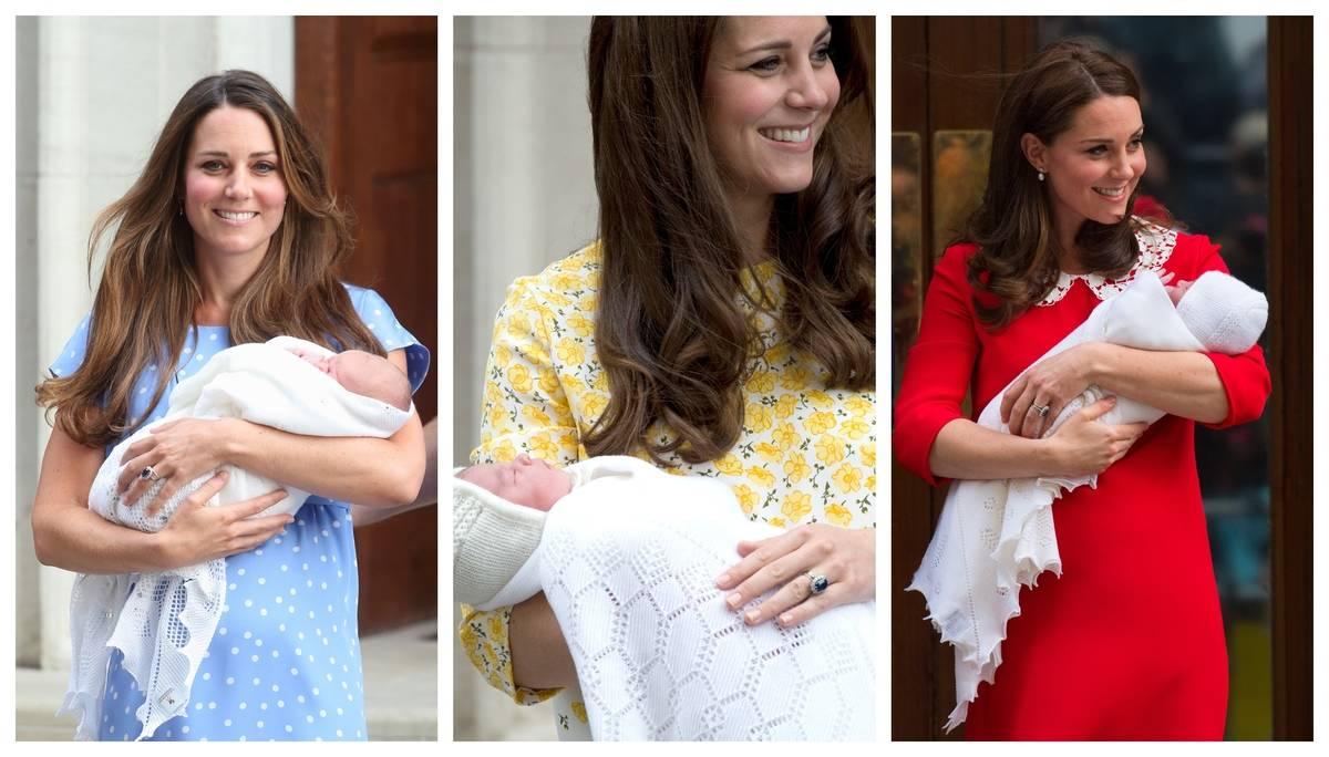 Kate Middleton newborns
