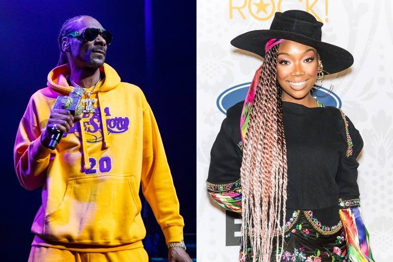 Snoop Dogg And Brandy Norwood