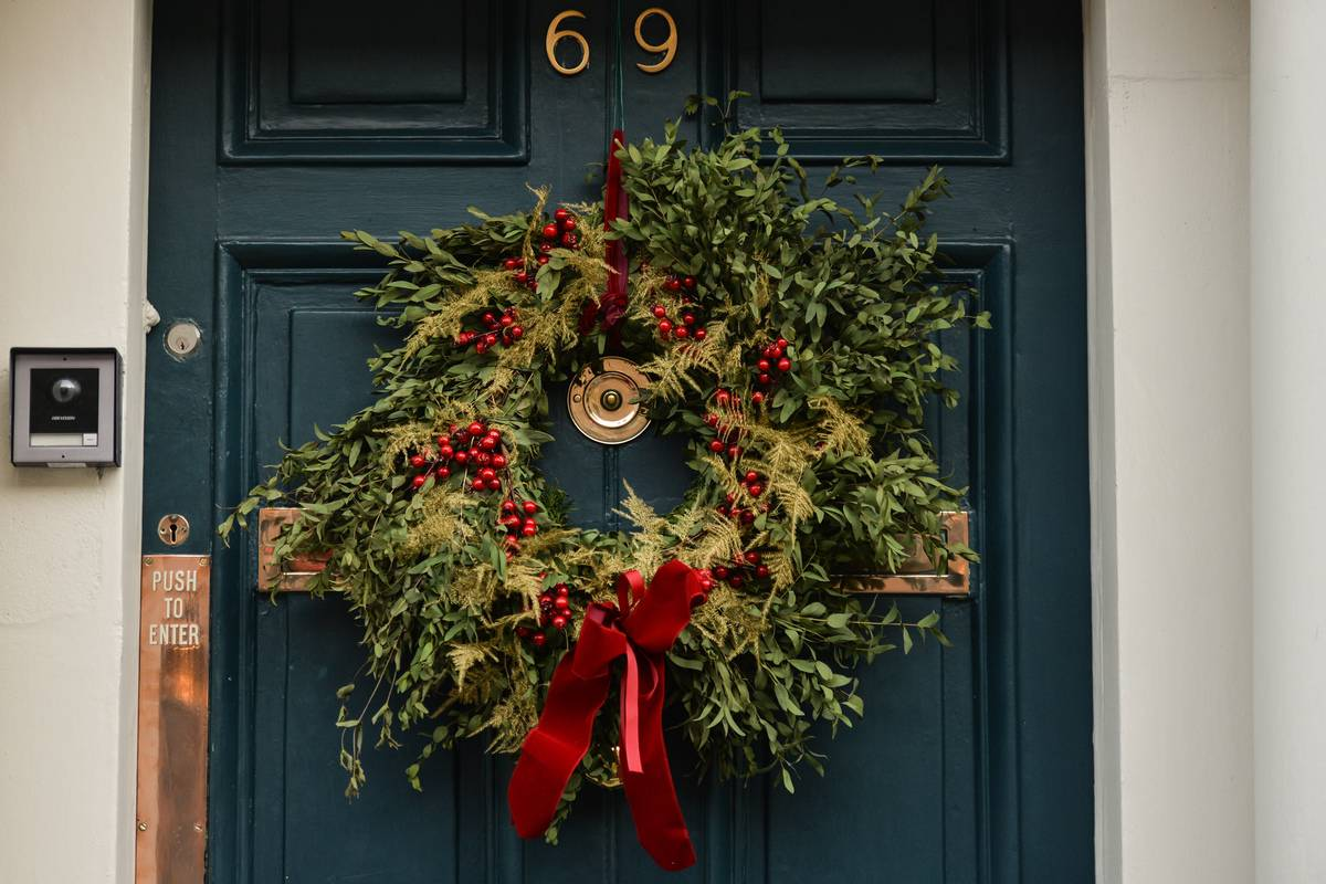 The Christmas Wreath Was Originally A Religious Symbol
