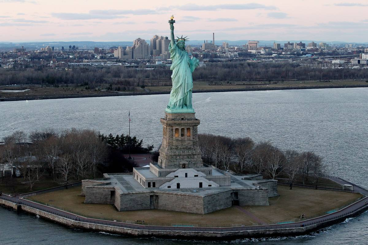 The Statue Of Liberty Was Gifted On Christmas Day 1886