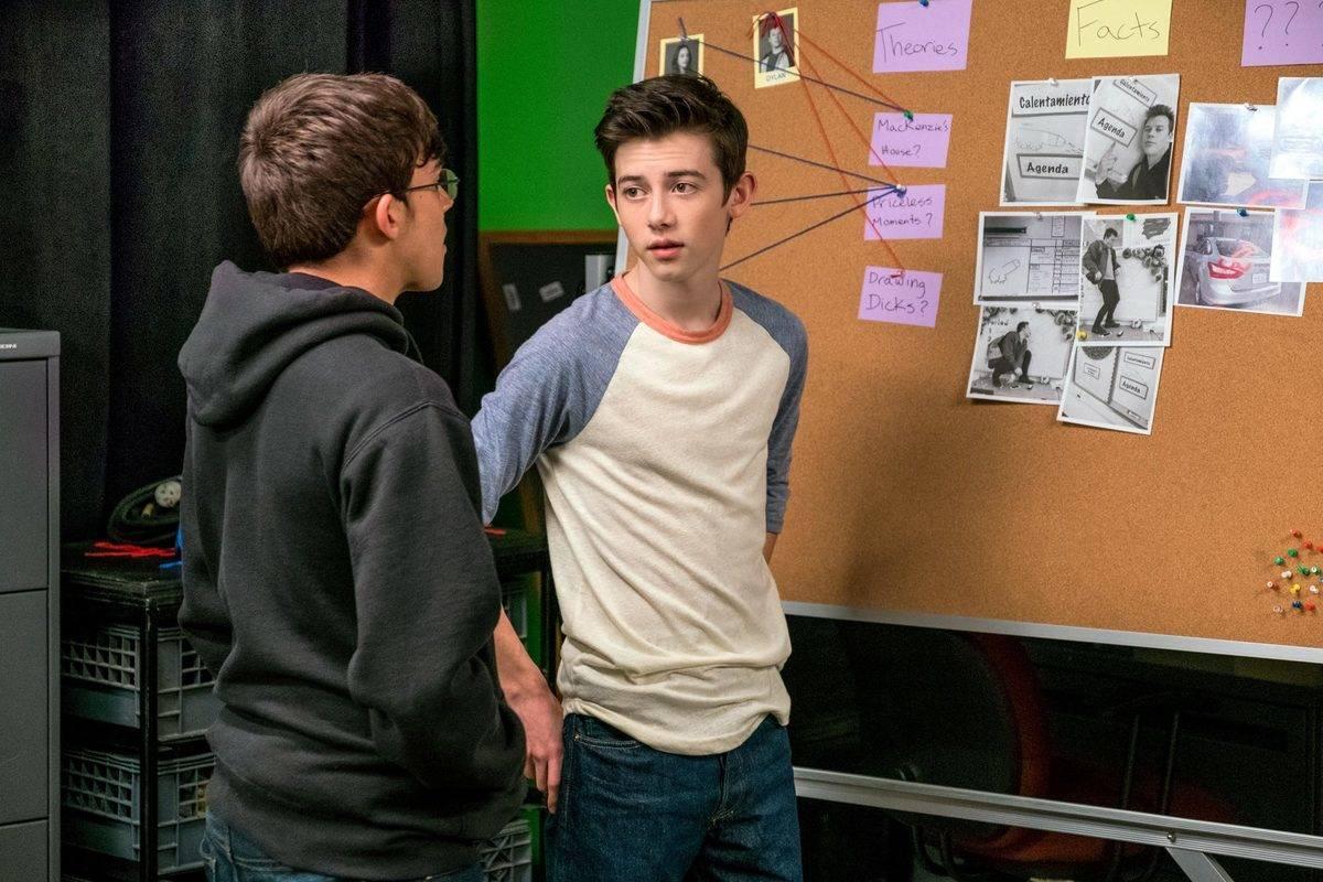 two teen boys in american vandal