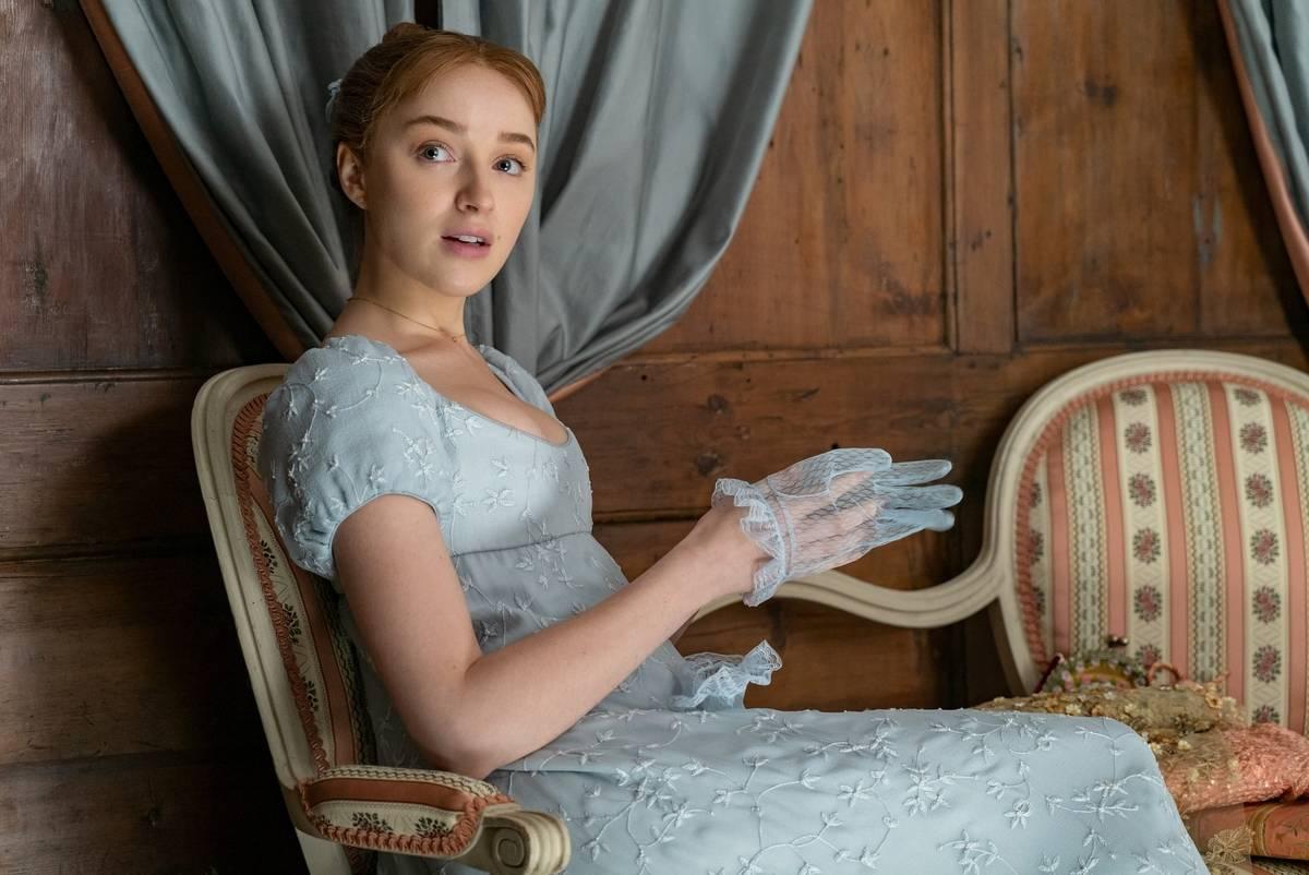 Actress in Bridgerton