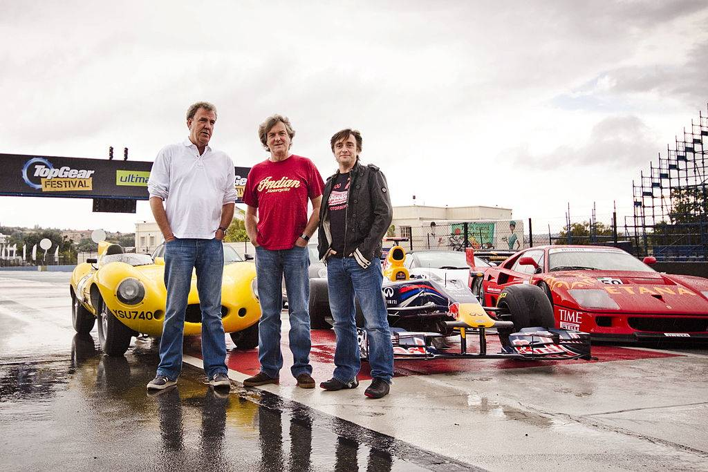 Picture of Top Gear hosts