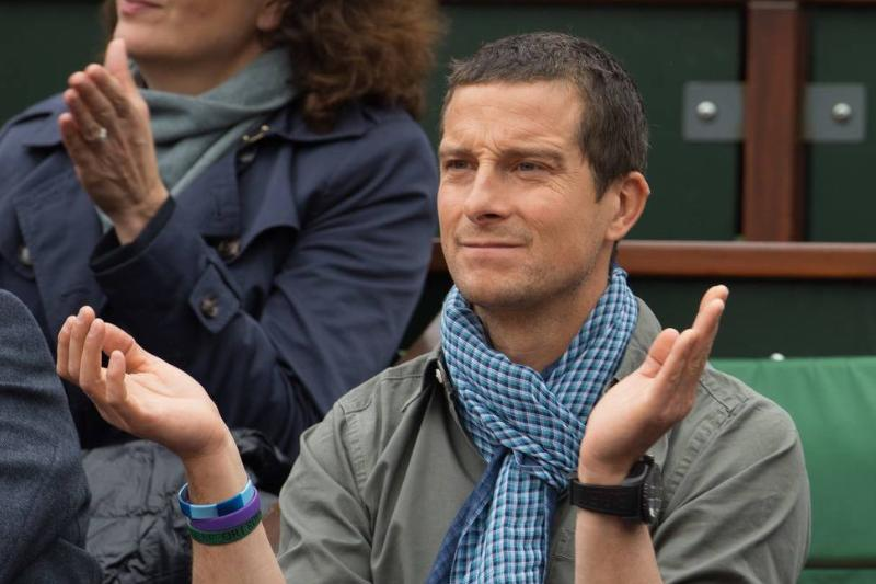 Bear Grylls Got Stood Up And Washed Out