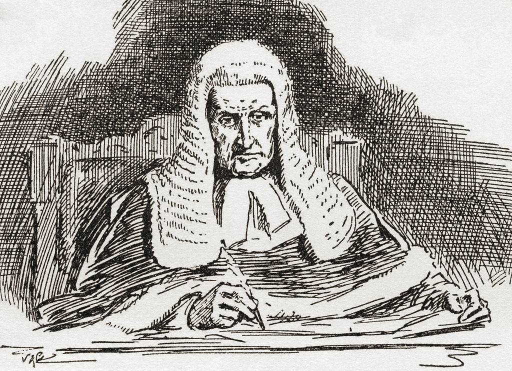 Picture of judge