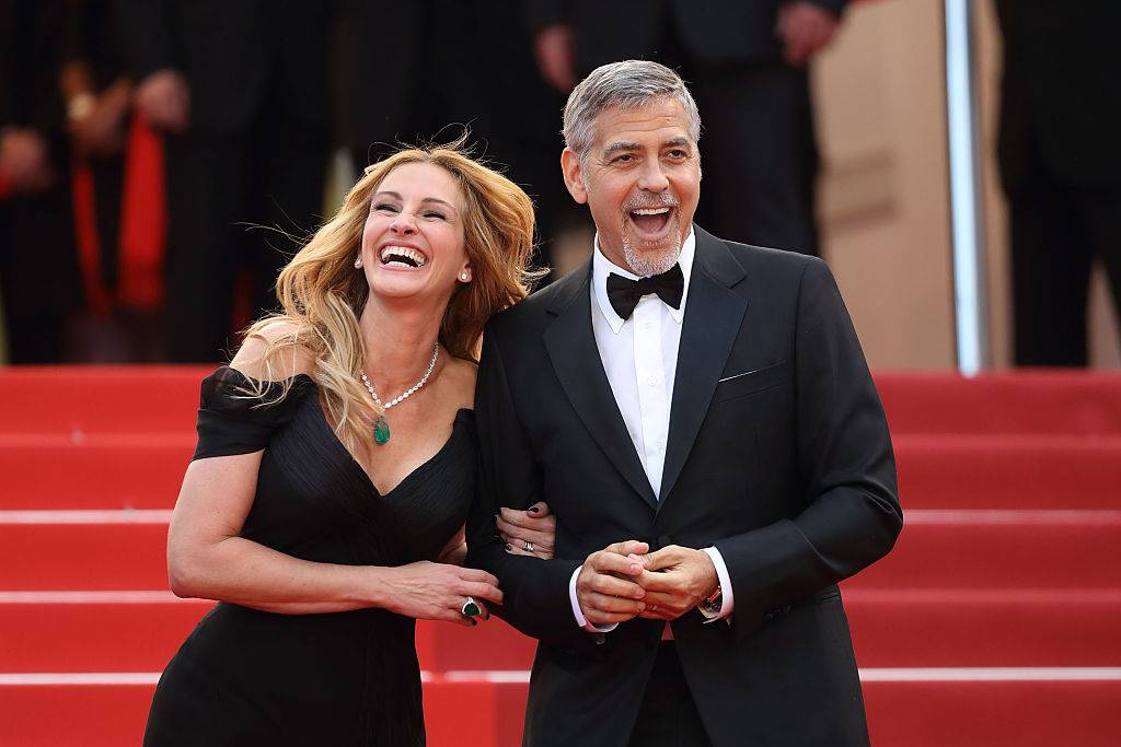 Picture of Roberts and Clooney