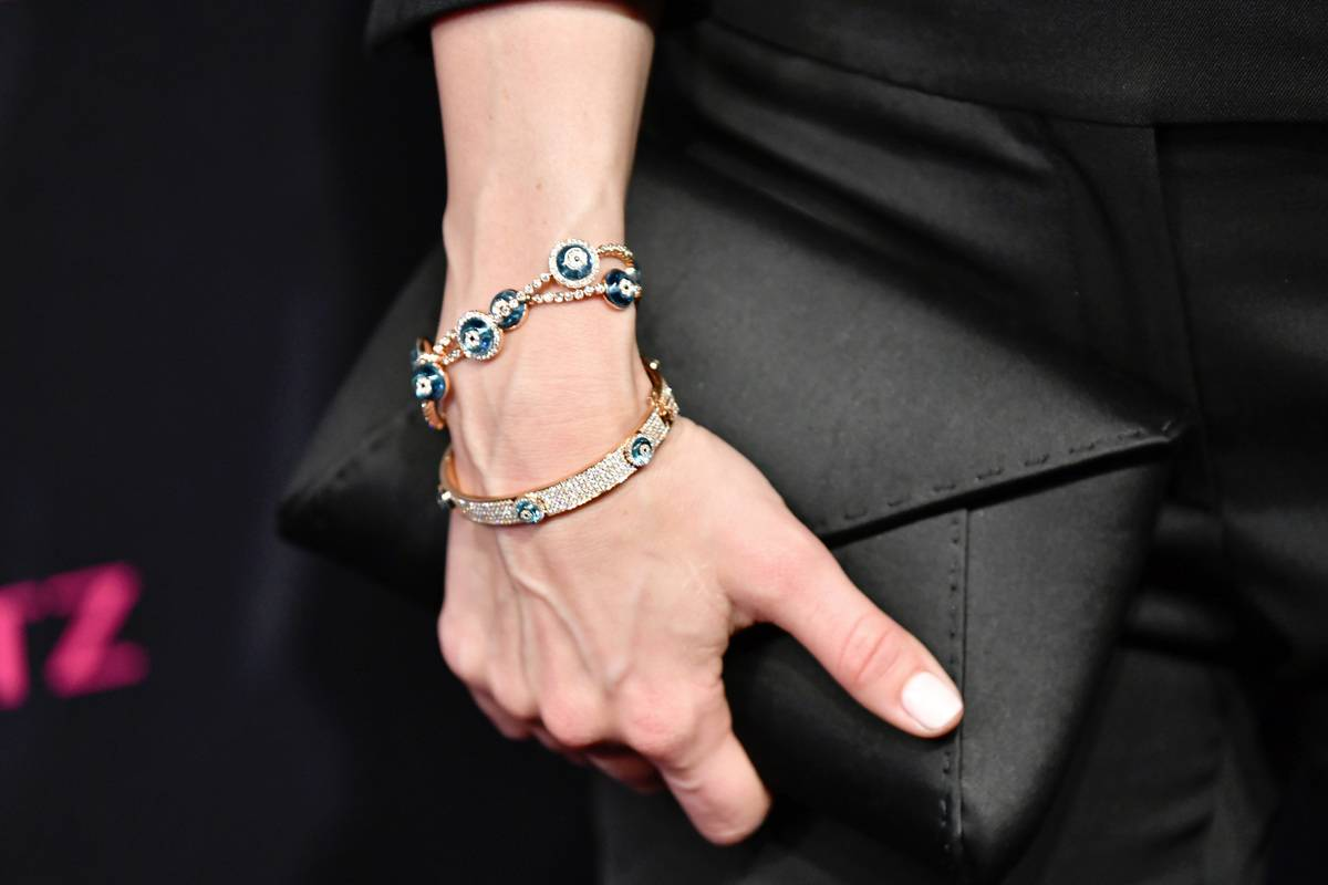 Philippa Christian Was Contracted To Wear Evil Eye Jewelry