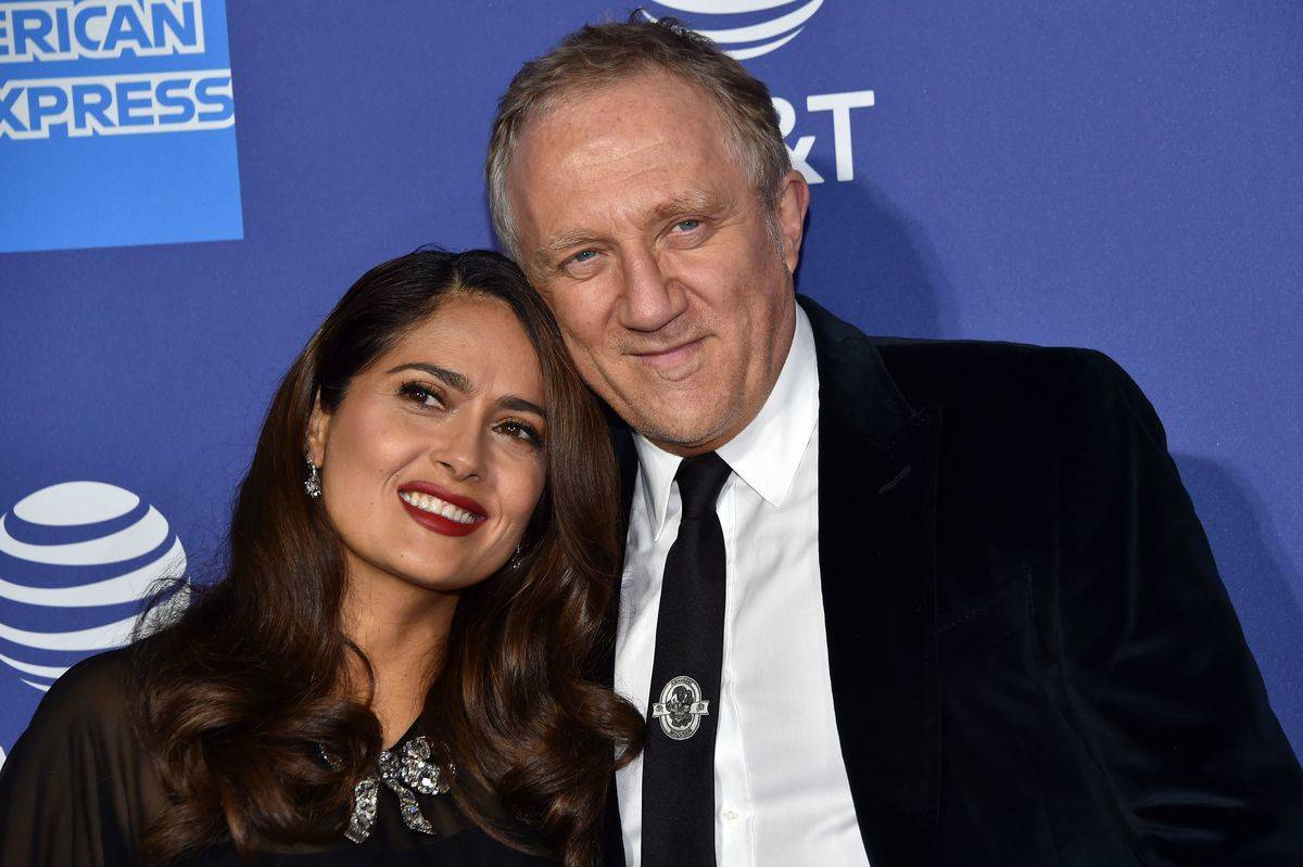 Salma Hayek And Her Future Husband's First Date Started Badly