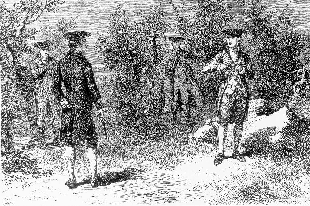 Picture of the duel