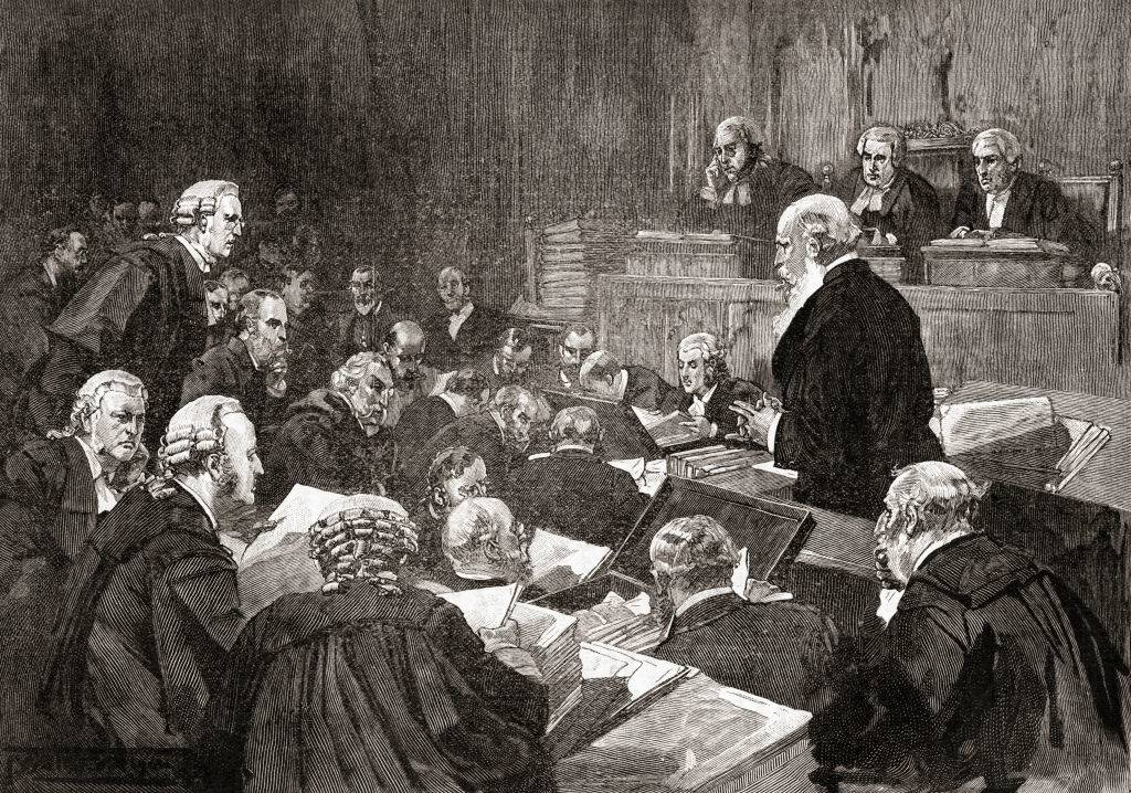 Picture of a trial