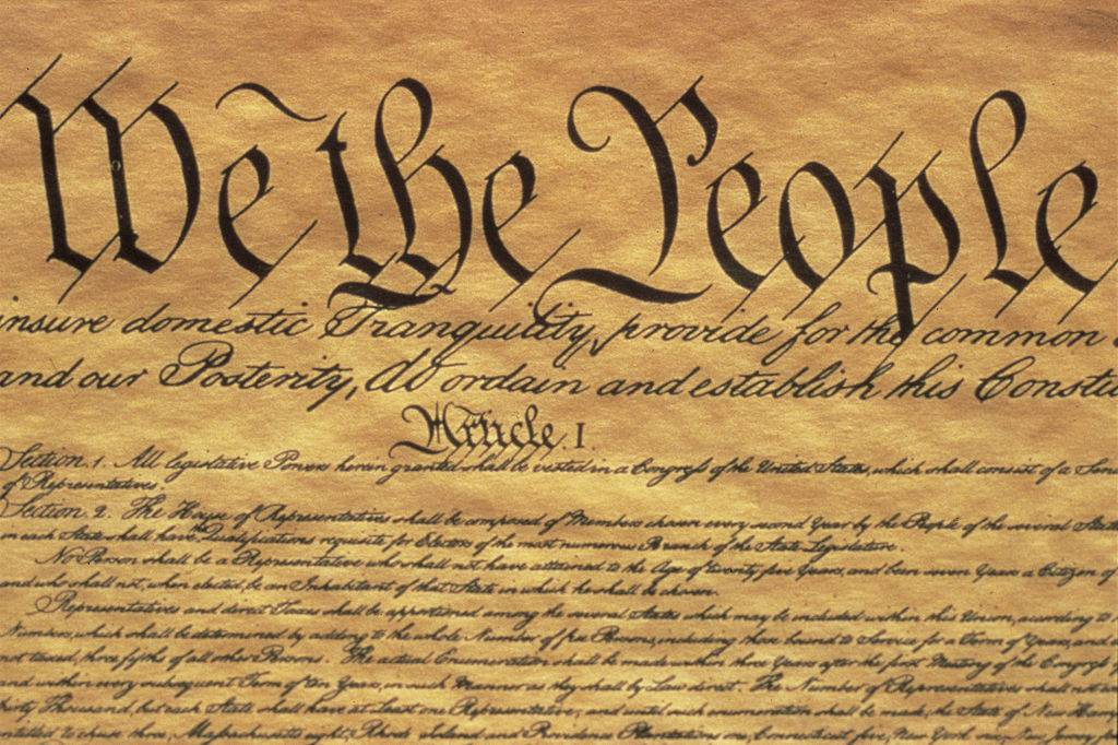 Picture of the Constitution