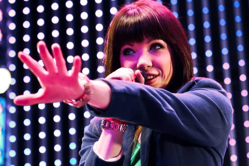 Carly Rae Jepsen Performs At Universal CityWalk's