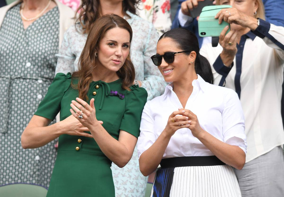 July 2018: Meghan And Kate Go On An Outing