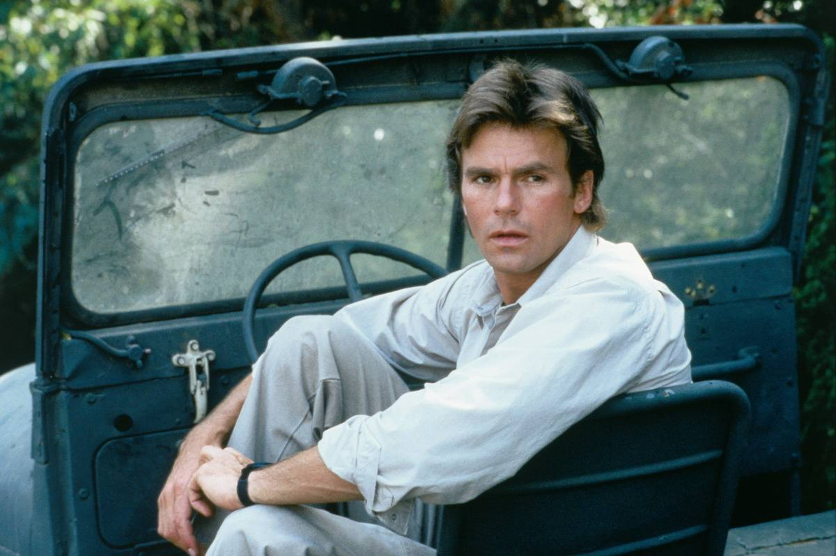 Richard Dean Anderson And MacGyver