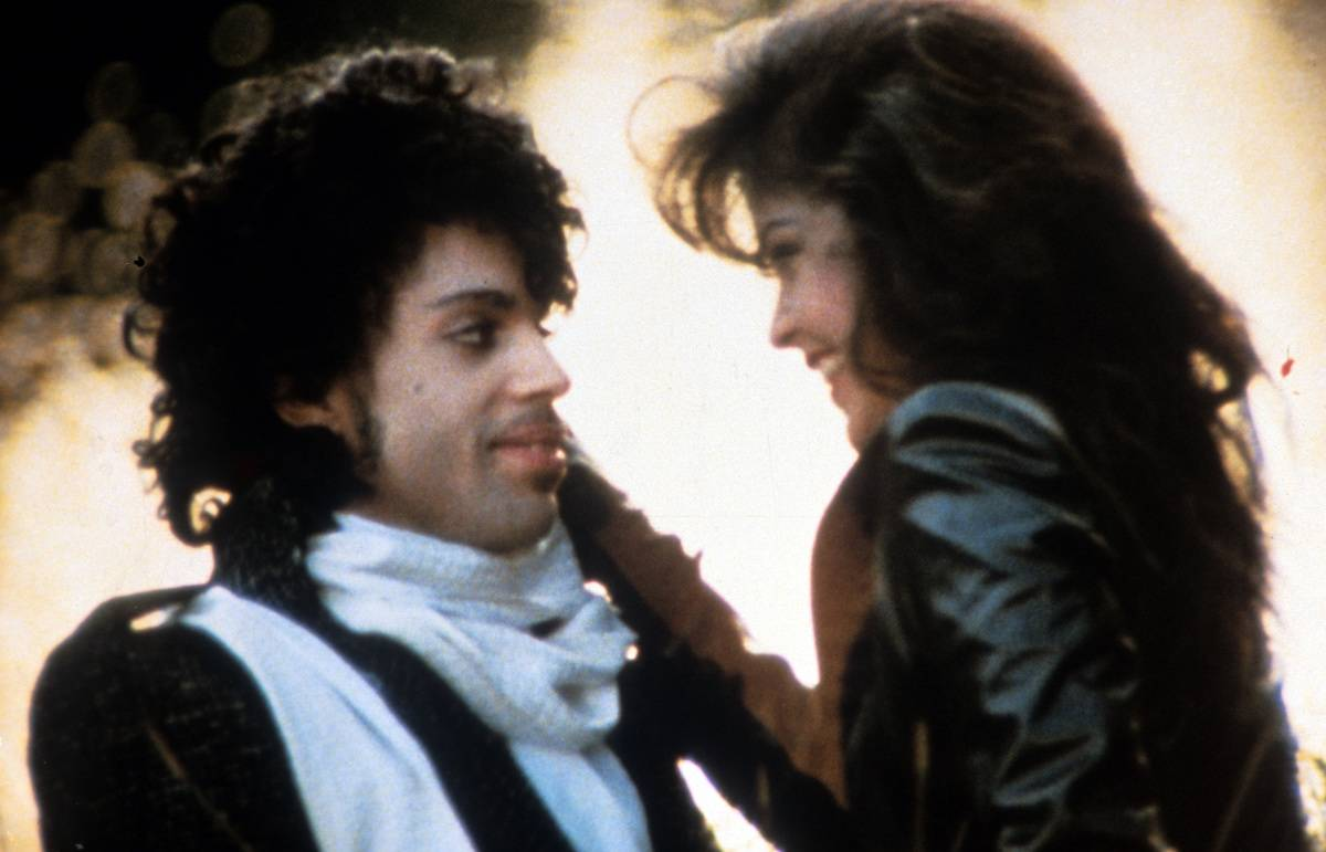 Prince And Apollonia Kotero In 'Purple Rain'