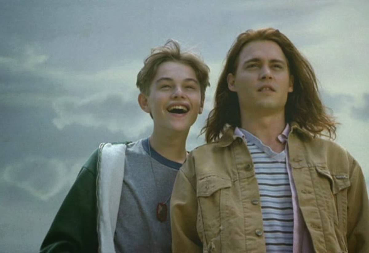 Picture of Depp and DiCaprio
