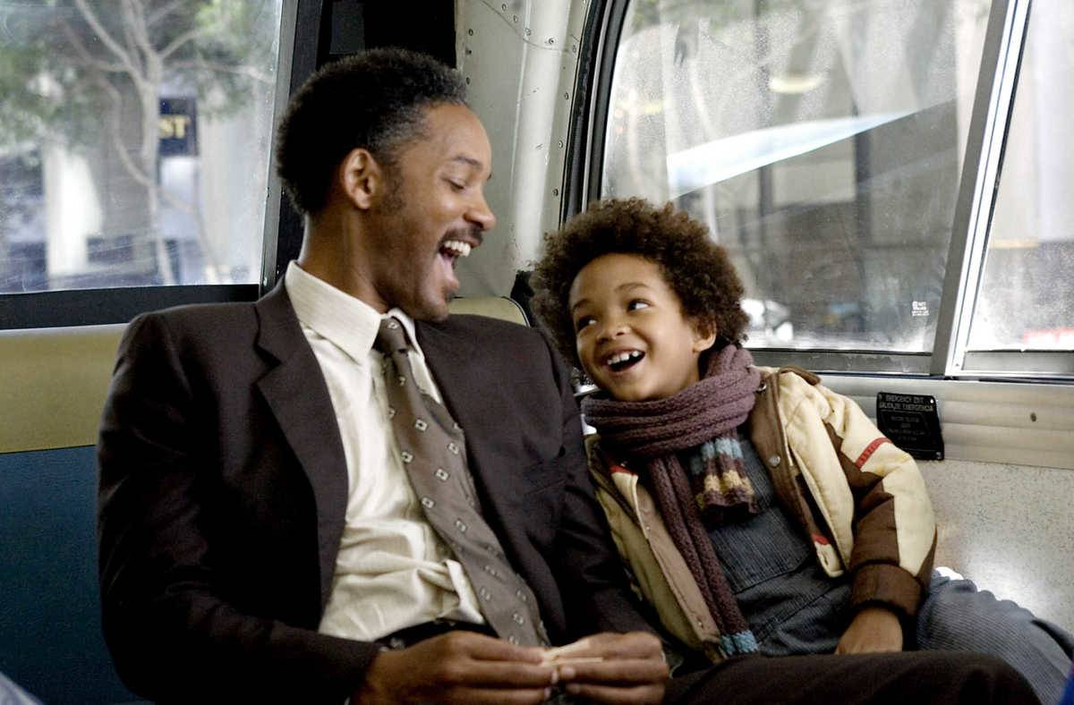 Picture from The Pursuit of Happyness