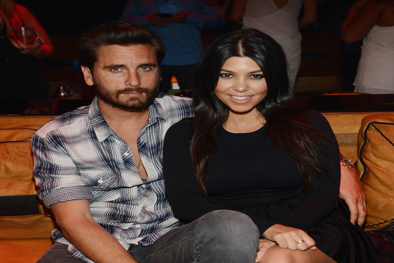 Kourtney Kardashian Celebrates Her Birthday At 1 OAK Nightclub Las Vegas At The Mirage Hotel & Casino