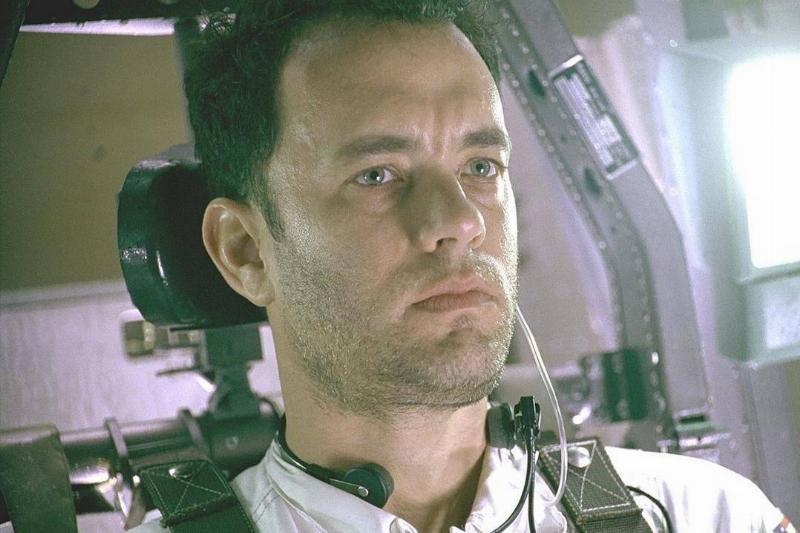 tom hanks as an astronaut in apollo 13