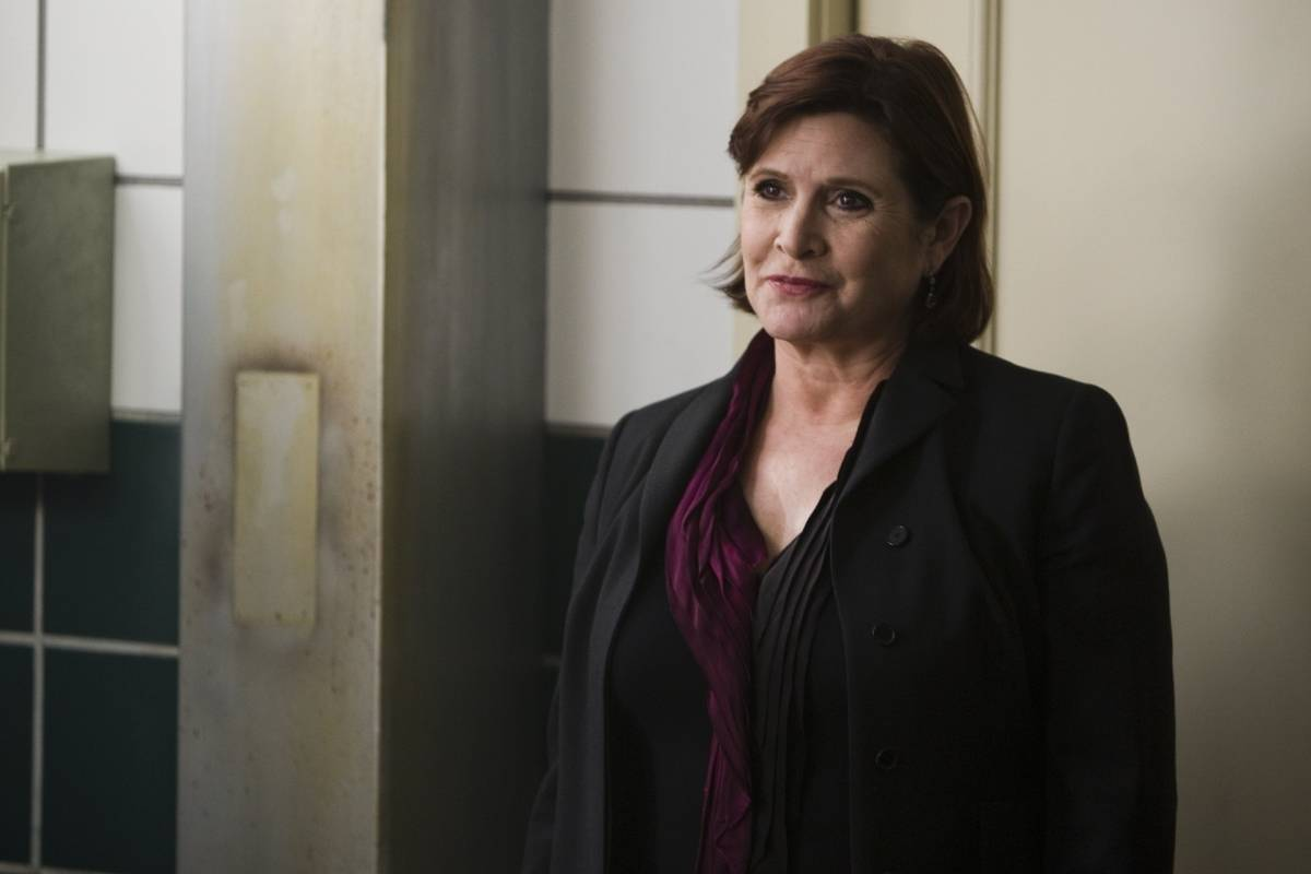 Carrie Fisher in sorority row