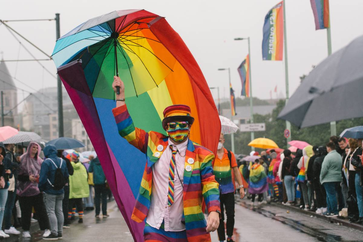 Christopher Street Day Parade In Cologne