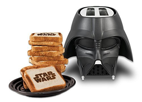 Keep the force alive in your tummy with some warm Star Wars toast.