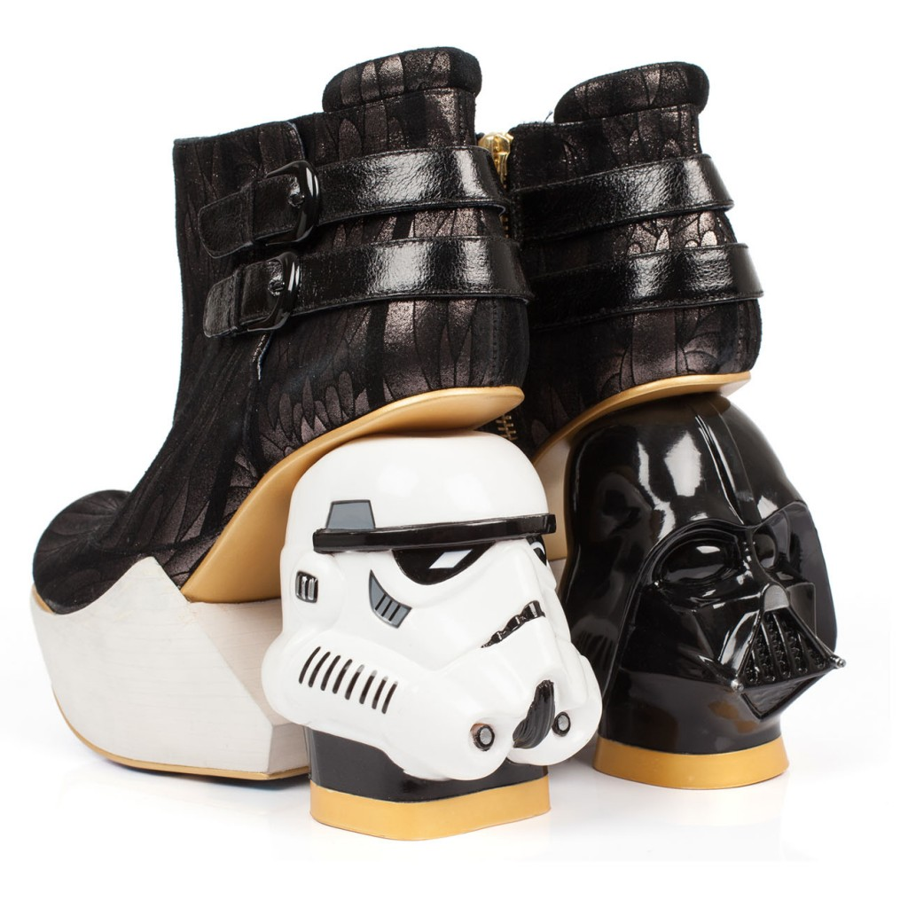 But these Death Star-themed booties are the most over-the-top we've seen.