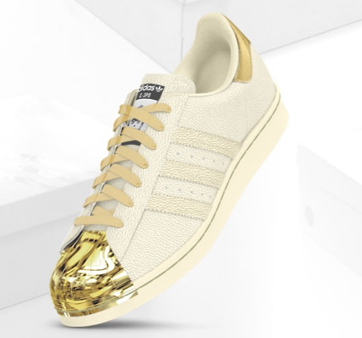 From, the new C-3PO inspired Superstar model: