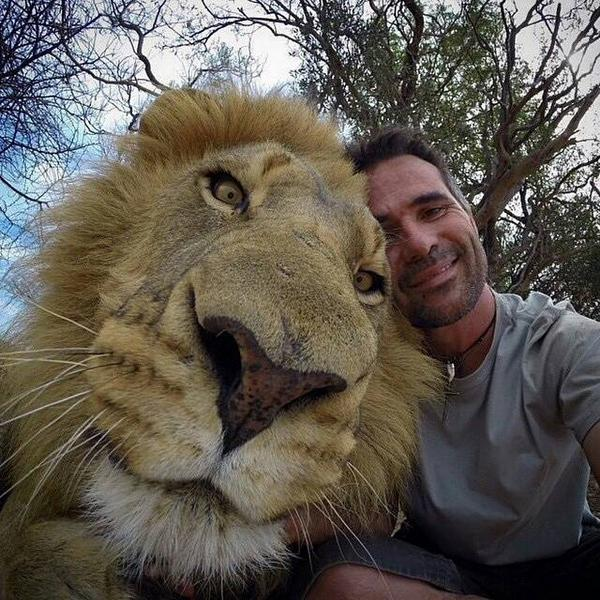 When You're Hanging Out With The King Of The Jungle — Obviously