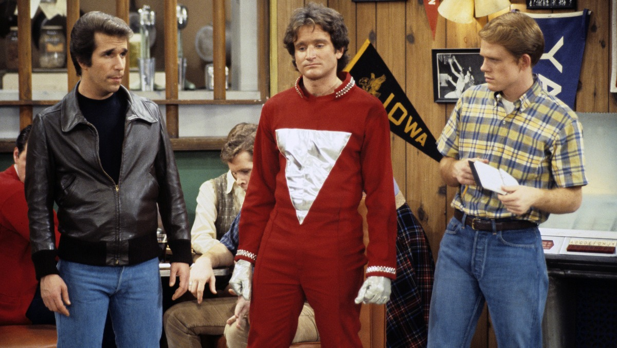 Robin Williams Sat On His Head To Land The Role Of Mork