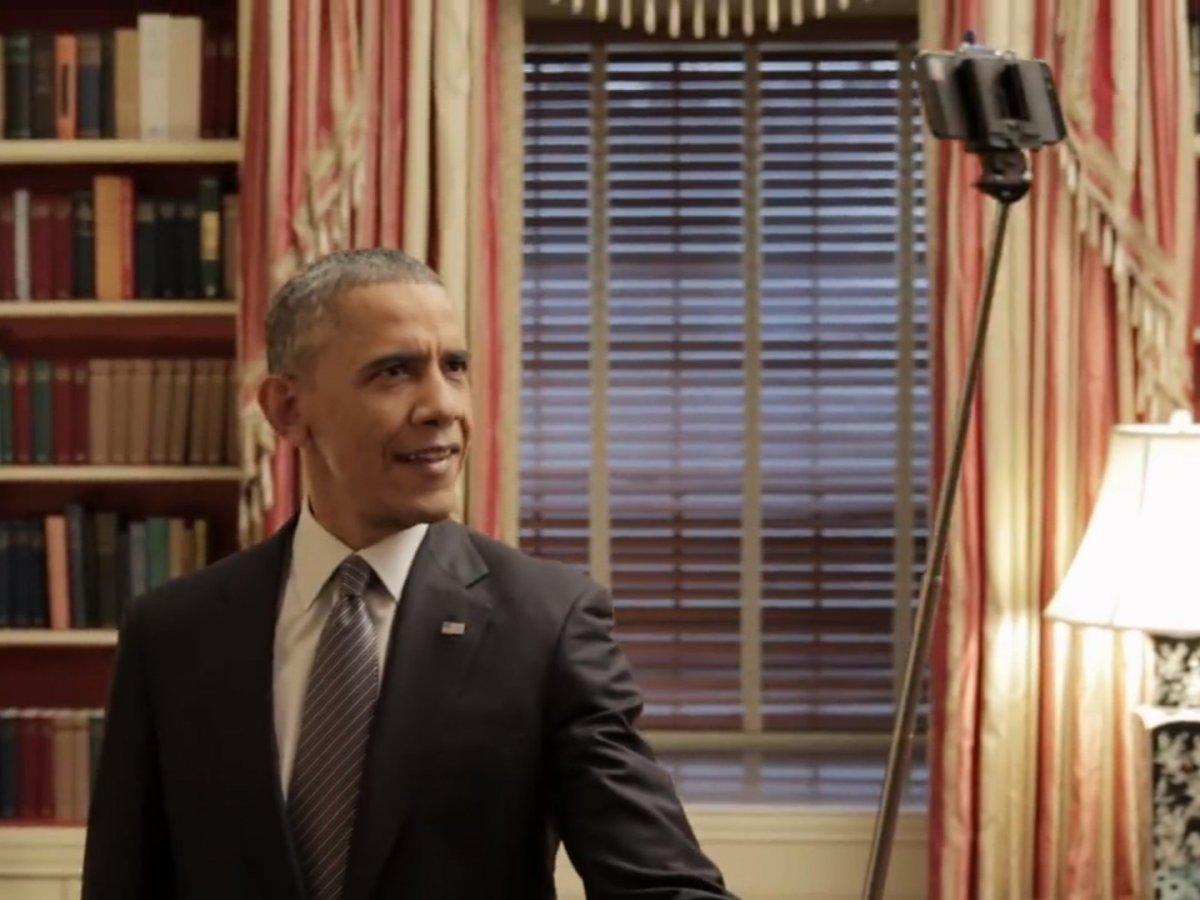 White House - President Obama - Selfie