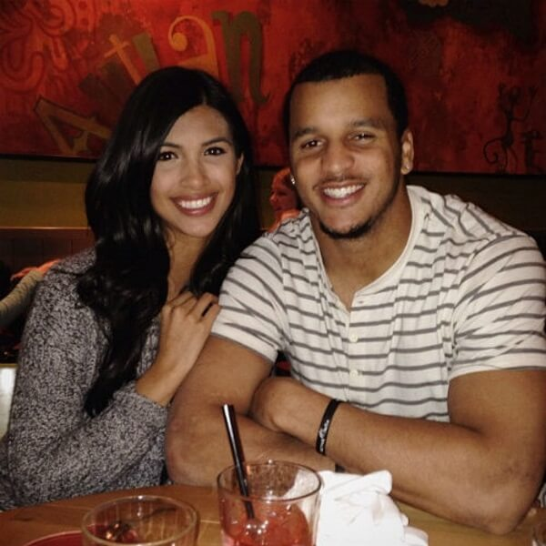 Marina Kearse and Jermaine Kearse
