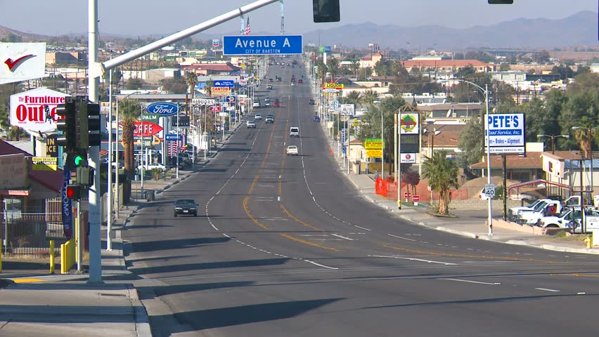 The Show Was Originally Set in Barstow, California in a Hotel