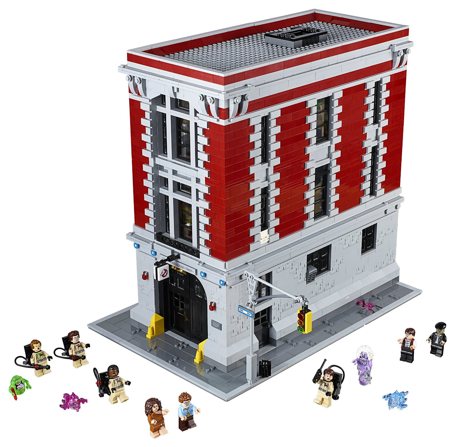 Ghostbusters Firehouse Headquarters Building