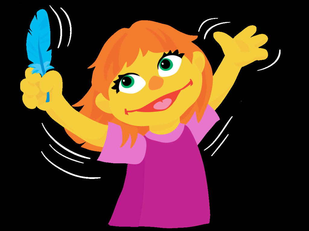 Julia - Muppet Character