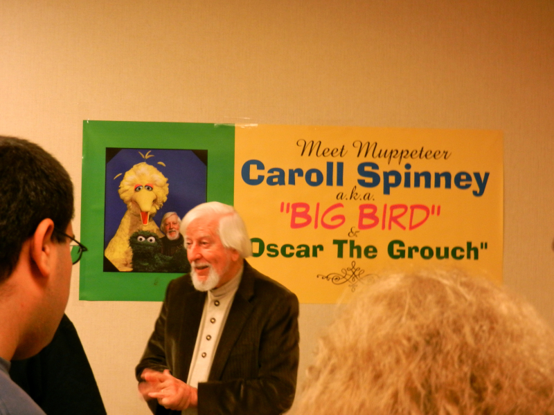 More on Caroll Spinney And His Incredible Talents
