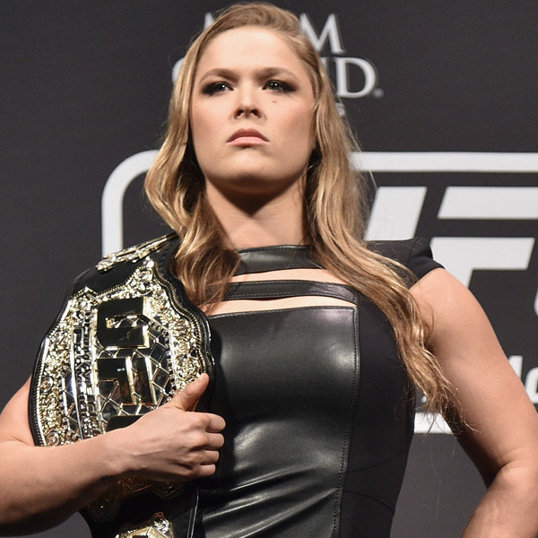 Ronda Rousey Is A Fighting Lady
