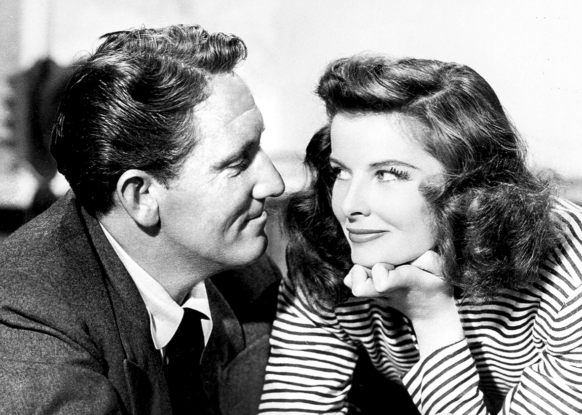 Spencer Tracy and Katharine Hepburn Helped form Two of the Show's Characters