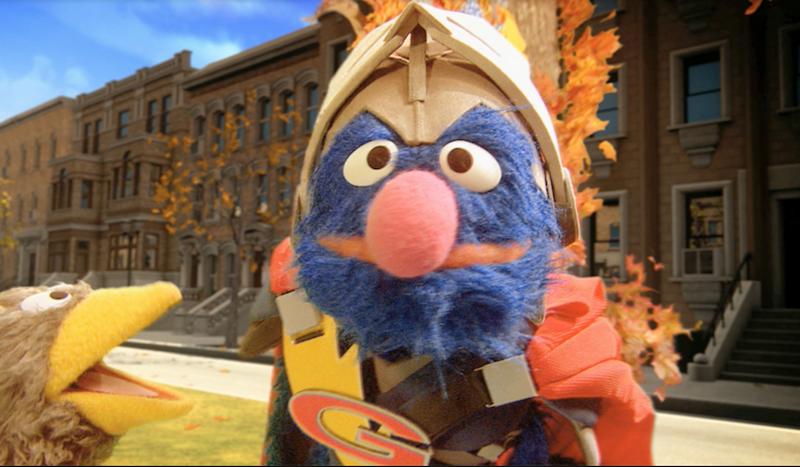 Grover The Super Monster!