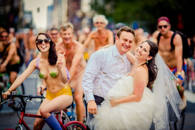 Bicycle Built For Nude